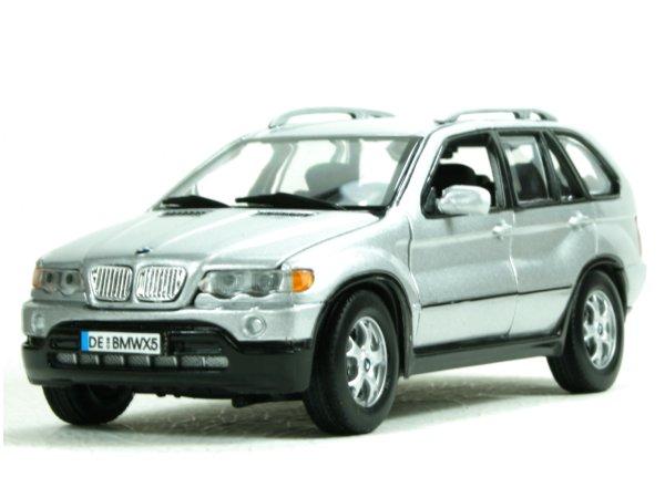 BMW X5 - silver - MotorMax 1:24