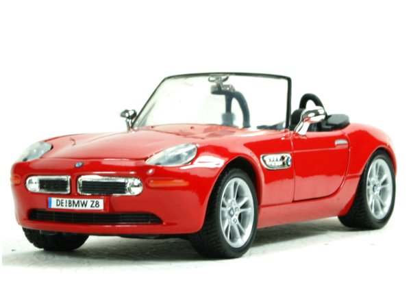 BMW Z8 - red - MotorMax 1:24