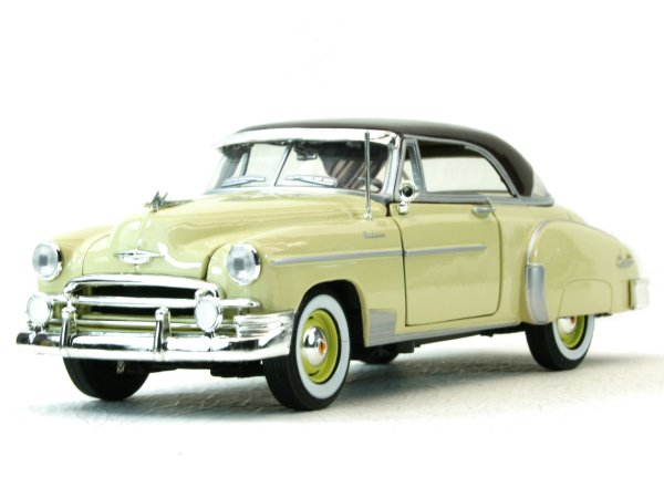 CHEVROLET Bel Air - 1950 - lightyellow - MotorMax 1:24