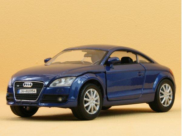 AUDI TT Coupe - bluemetallic - MotorMax 1:24