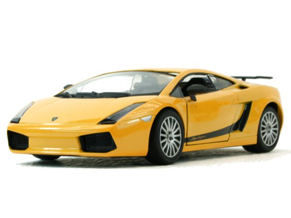 LAMBORGHINI Gallardo Superleggera - yellowmetallic - MotorMax 1:24