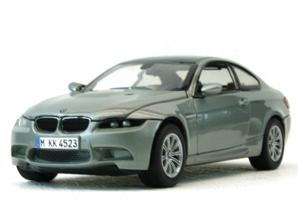 BMW M3 Coupe - greymetallic - MotorMax 1:24