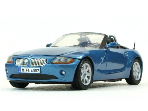 BMW Z4 - bluemetallic - MotorMax 1:24