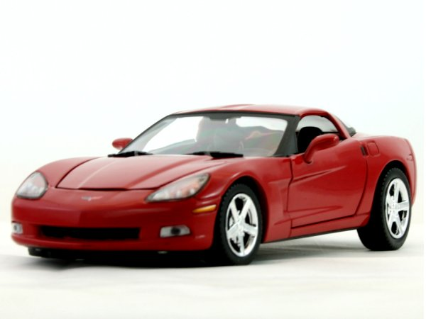CHEVROLET Corvette C6 - 2005 - red - MotorMax 1:24