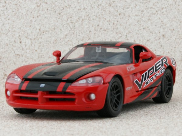 DODGE Viper SRT-10 - 2003 - red / black - MotorMax 1:24