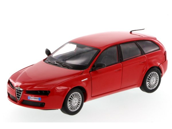 ALFA ROMEO 159 SW - Station Wagon - red - MotorMax 1:24