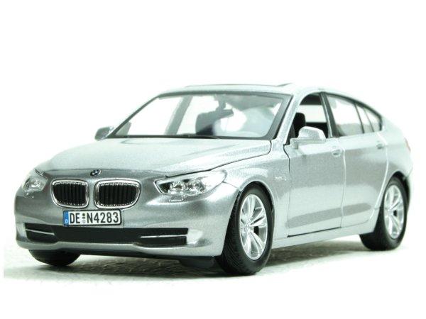 BMW Series 5 GT - silver - MotorMax 1:24