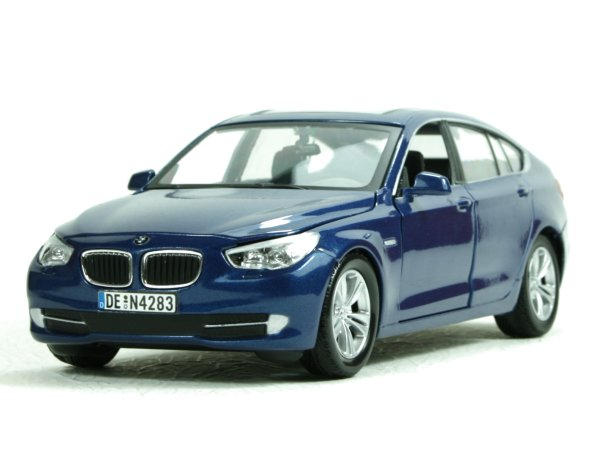 BMW Series 5 GT - bluemetallic - MotorMax 1:24