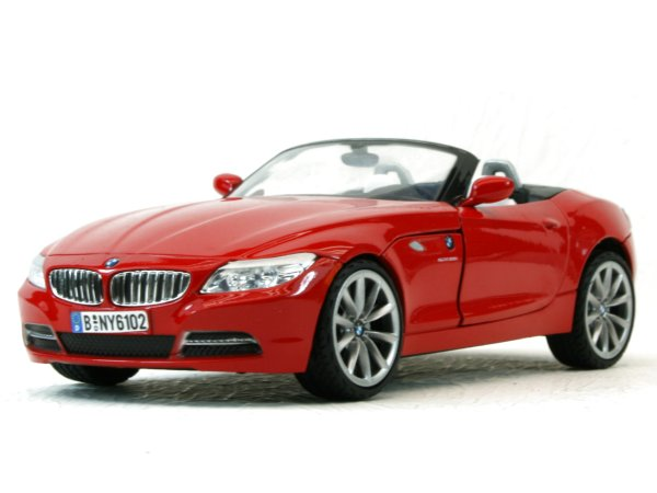 BMW Z4 - 2010 - red - MotorMax 1:24