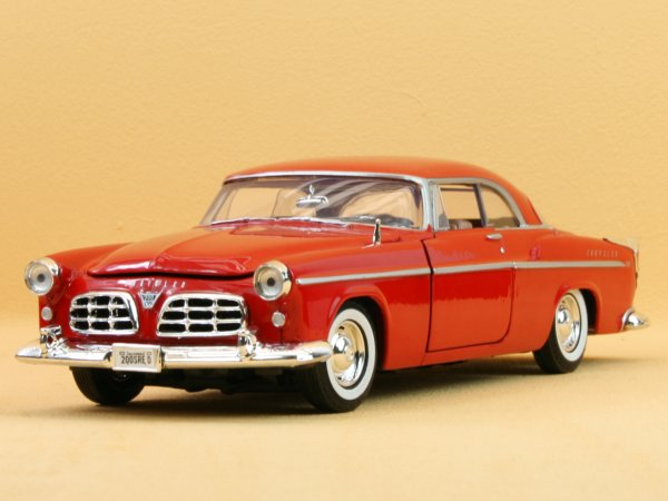 CHRYSLER C 300 - 1955 - red - MotorMax 1:24