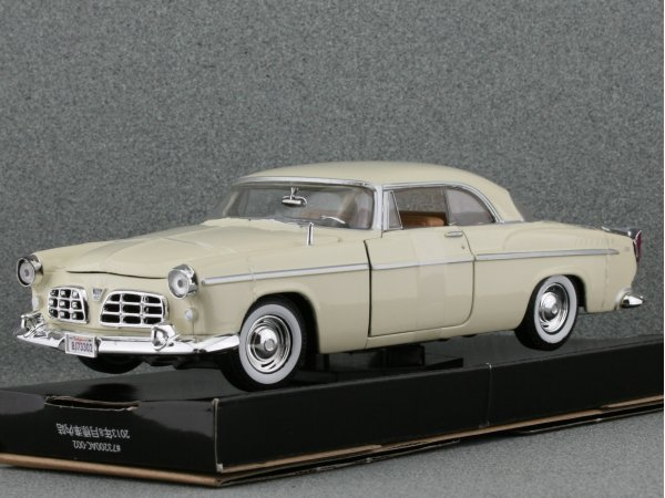 CHRYSLER C 300 - 1955 - cream - MotorMax 1:24