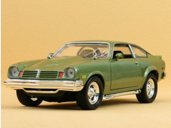 CHEVROLET Vega - 1974 - greenmetallic - MotorMax 1:24