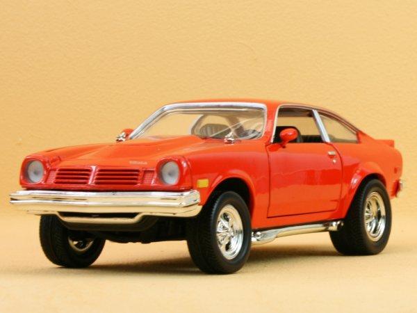 CHEVROLET Vega - 1974 - redorange - MotorMax 1:24