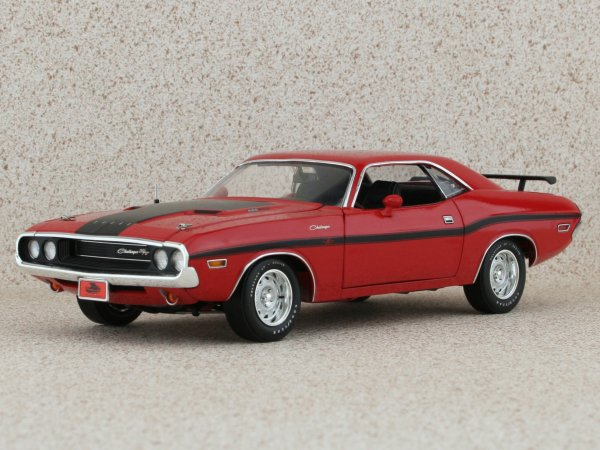 DODGE Challenger R/T - 1970 - red - HIGHWAY 61 1:24