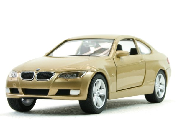 BMW 335i Coupe - goldmetallic - YATMING 1:24