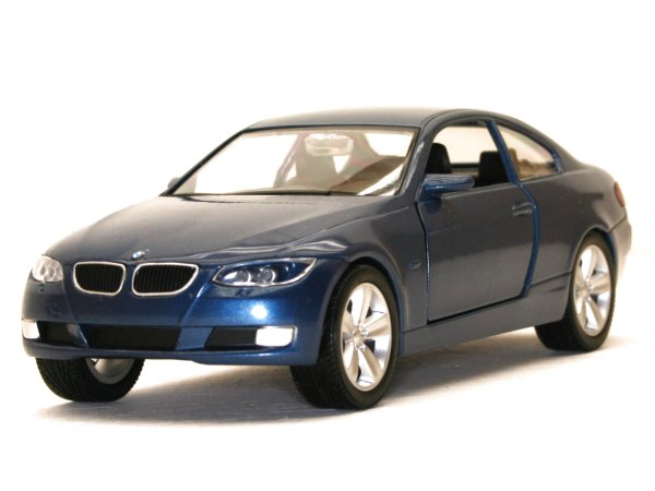 BMW 335i Coupe - bluemetallic - YATMING 1:24