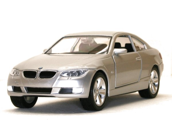 BMW 335i Coupe - silver - YATMING 1:24