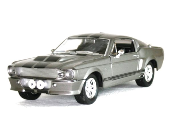 FORD Mustang SHELBY GT 500 - 1967 - greymetallic - YATMING 1:24