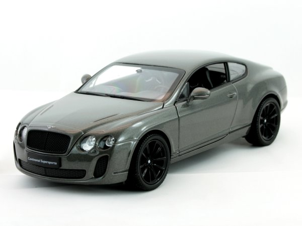 BENTLEY Continental Supersports - greymetallic - WELLY 1:24