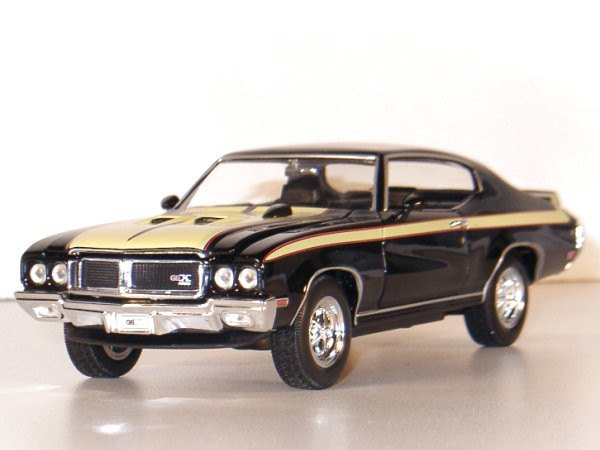 BUICK GSX - 1970 - black - WELLY 1:26