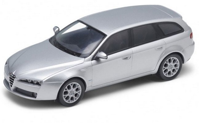 ALFA ROMEO 159 - Station Wagon - silver - WELLY 1:24