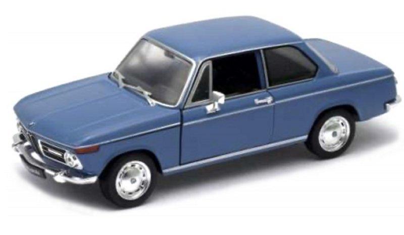 BMW 2002 Ti - blue - WELLY 1:24