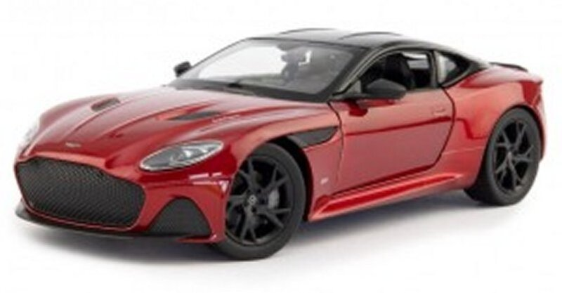 ASTON MARTIN DBS  - redmetallic - WELLY 1:24