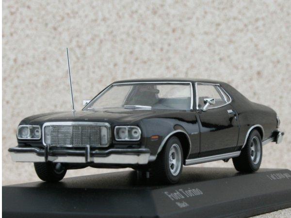FORD Torino - 1976 - black - Minichamps 1:43