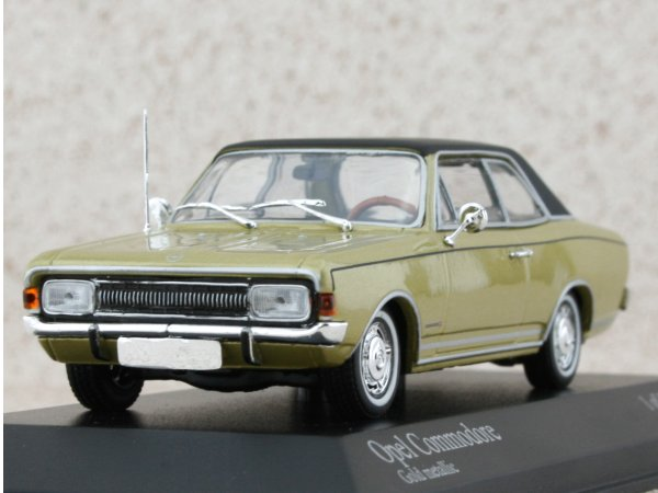 OPEL Commodore A - 1966 - goldmetallic - Minichamps 1:43