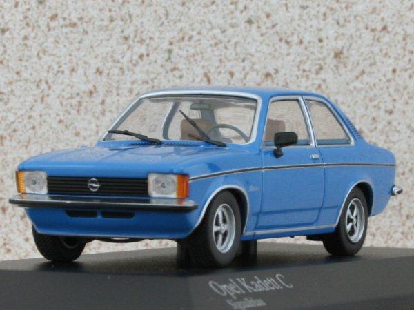 OPEL C Kadett - 1978 - signalblau - Minichamps 1:43
