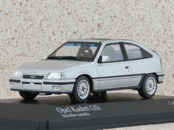 OPEL Kadett GSi - 1989 - silver - Minichamps 1:43