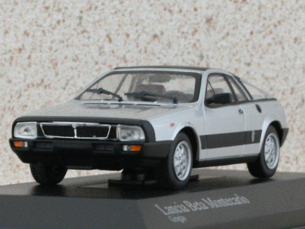 LANCIA Beta Montecarlo - 1980 - silver - Minichamps 1:43