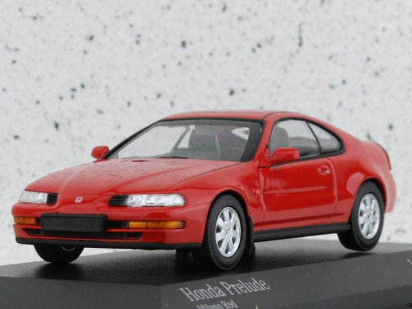 HONDA Prelude - 1992 - red - Minichamps 1:43