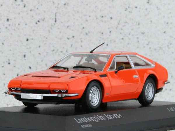 LAMBORGHINI Jarama - 1974 - orange - Minichamps 1:43