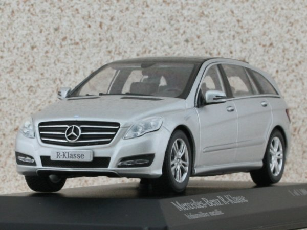 MB Mercedes Benz R Class - 2010 - silver - Minichamps 1:43