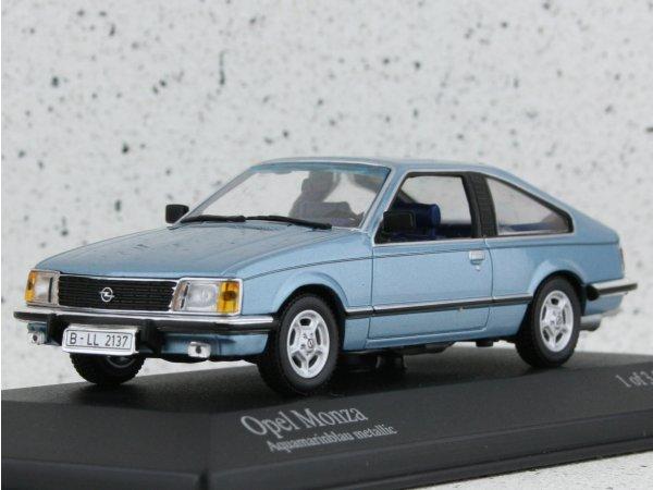 OPEL Monza - 1980 - bluemetallic - Minichamps 1:43