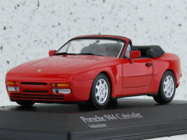 PORSCHE 944 Cabrio - 1991 - Indisch red - Minichamps 1:43