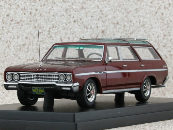 BUICK Sport Wagon - redmetallic - BoS - Best of Show 1:43