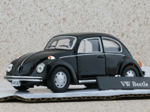VW Volkswagen Käfer / Beetle - black - Carama 1:43