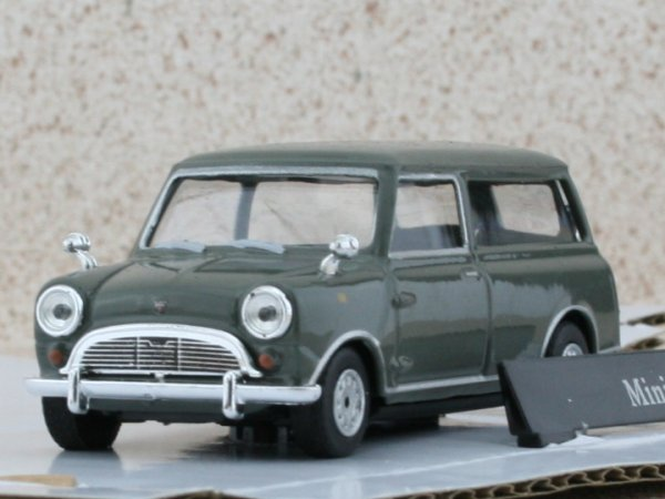 MINI Van - grey - Cararama 1:43