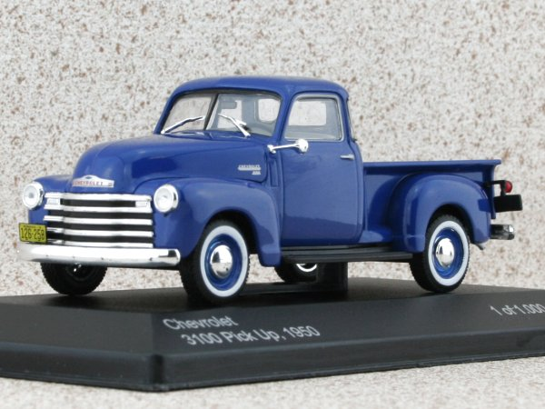 CHEVROLET 3100 Pick up - 1950 - blue - WhiteBox 1:43