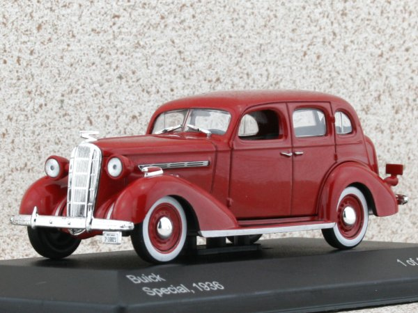 BUICK Special - 1936 - red - WhiteBox 1:43