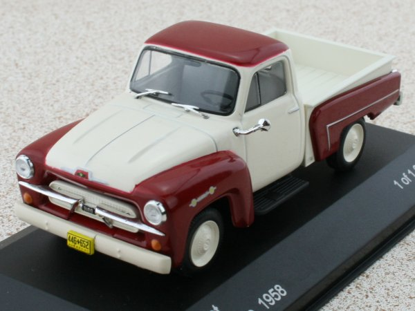 CHEVROLET 3100 Pick up - 1958 -  - WhiteBox 1:43