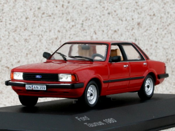 FORD Taunus - 1980 - red - WhiteBox 1:43