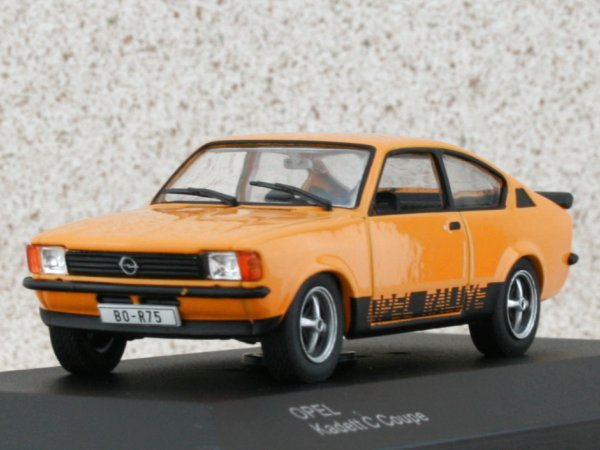 OPEL Kadett C Coupe - orange - WhiteBox 1:43