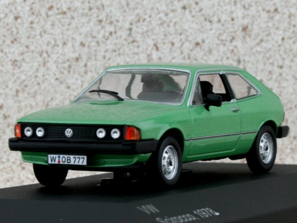 VW Volkswagen Scirocco - 1978 - greenmetallic - WhiteBox 1:43