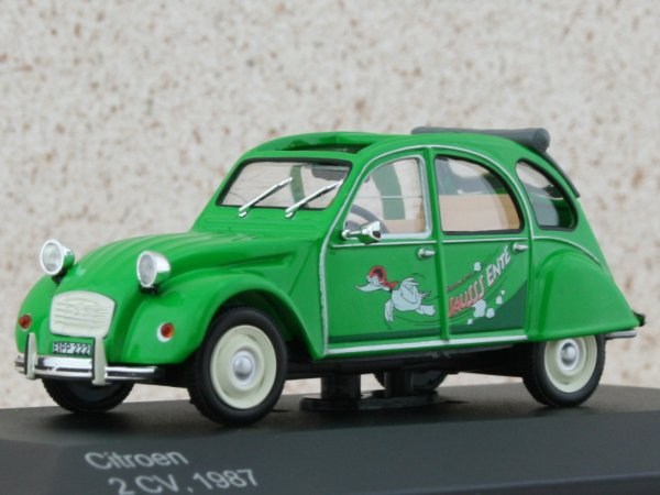 CITROEN 2 CV - 1987 - Sauss Ente - WhiteBox 1:43