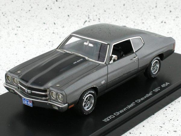 CHEVROLET Chevelle SS 454 - 1970 - greymetallic - Auto World 1:43