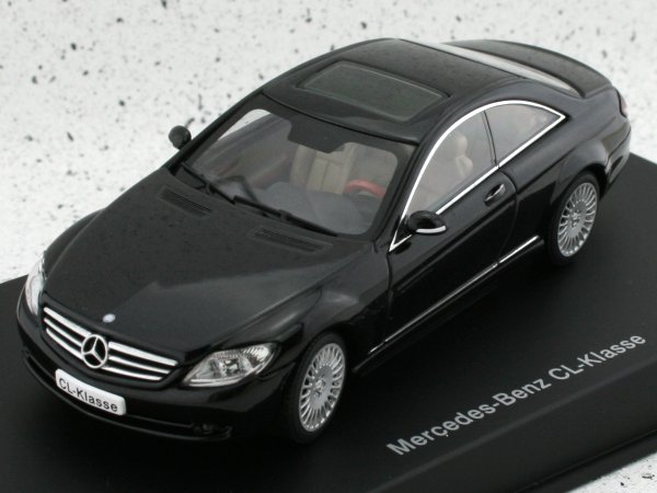 MB Mercedes Benz CL - black - AutoArt 1:43