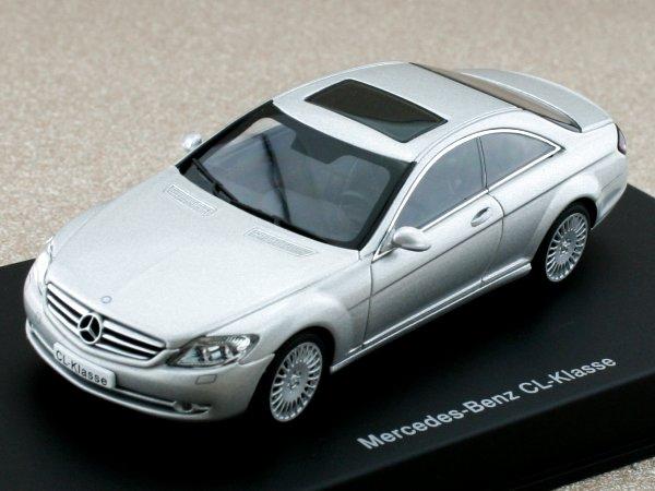 MB Mercedes Benz CL - silver - AutoArt 1:43